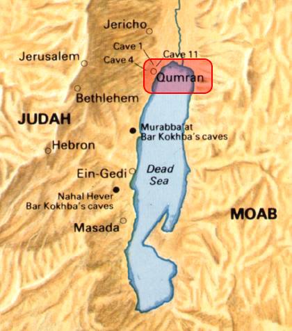 qumran map